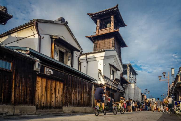 kawagoe bell tower