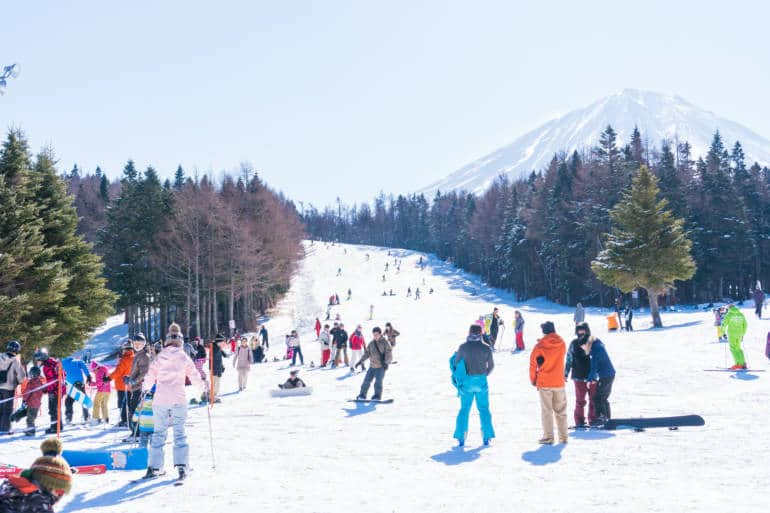 ski packages from Tokyo