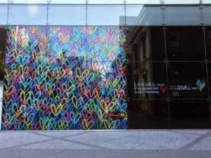 Love Wall Panasonic Museum