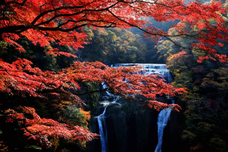 The magic of Fukuroda Falls.