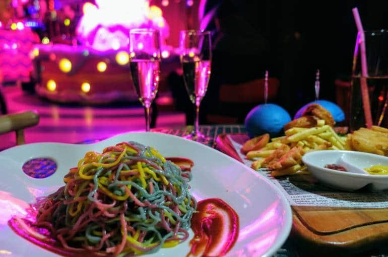 Harajuku Kawaii Monster Cafe Burlesque Night food