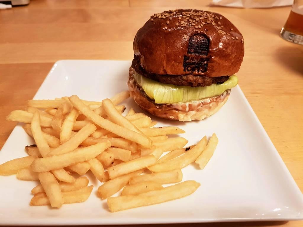 Burger Revolution home delivered