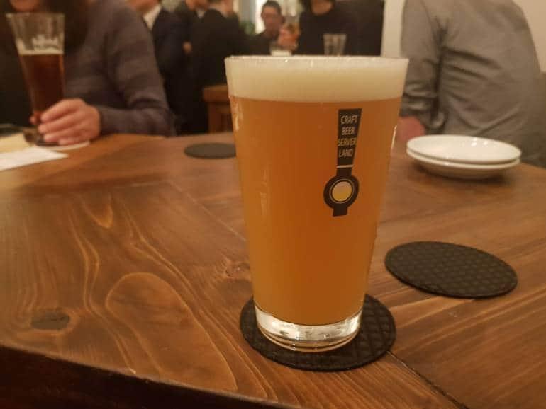 beer at Craft Beer Server Land