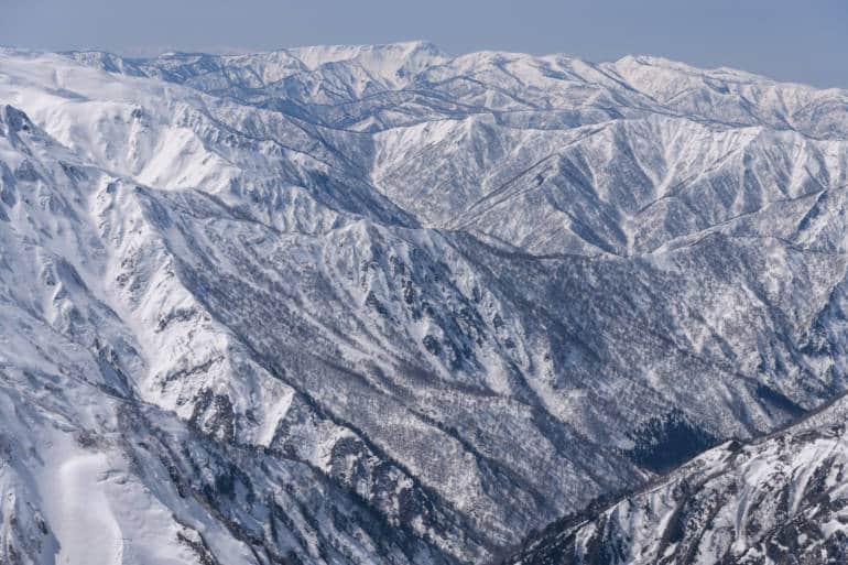 snowy Mount Naeba
