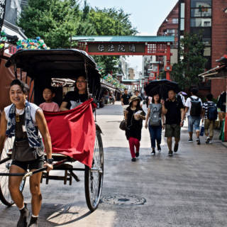 Like Traveling Back in Time: Tokyo Rickshaw Experiences