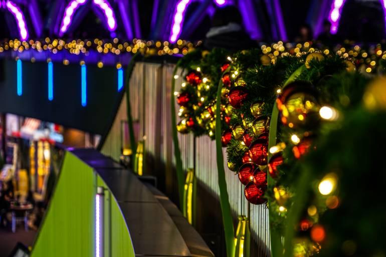 Tokyo dome christmas illuminations