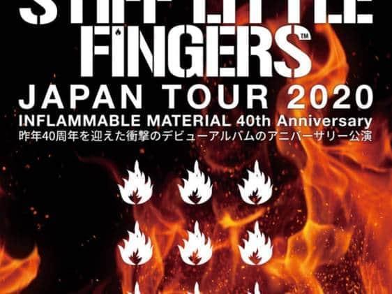 Stiff little fingers tokyo - iflyer