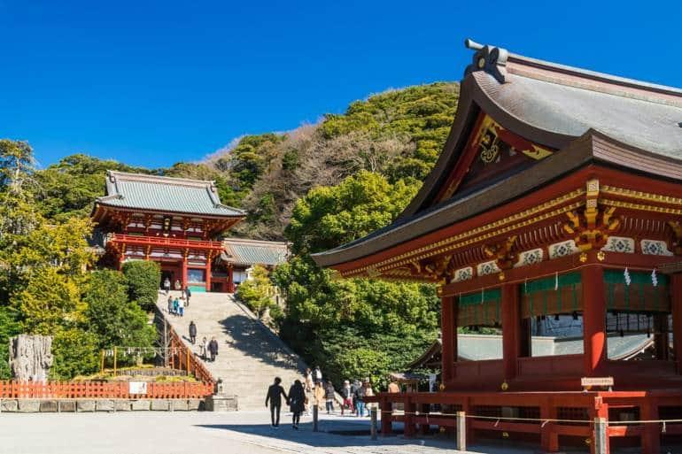 kamakura, japan shrine