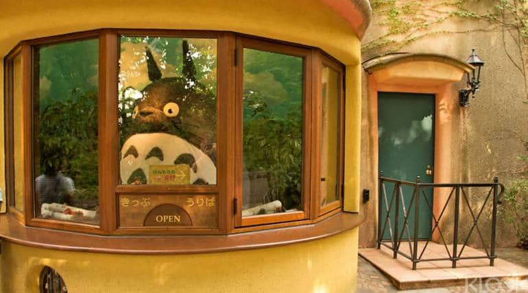 entrance to ghibli museum, tokyo