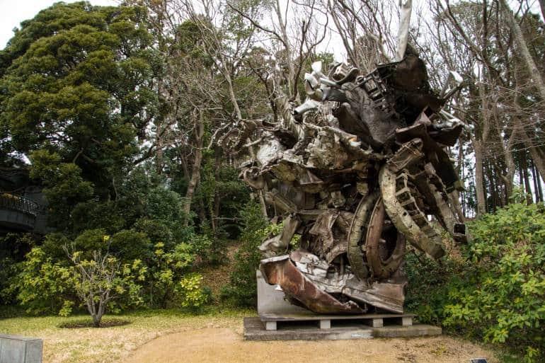 Kawamura art museum sculpture