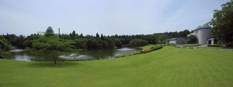 Kawamura Museum grounds