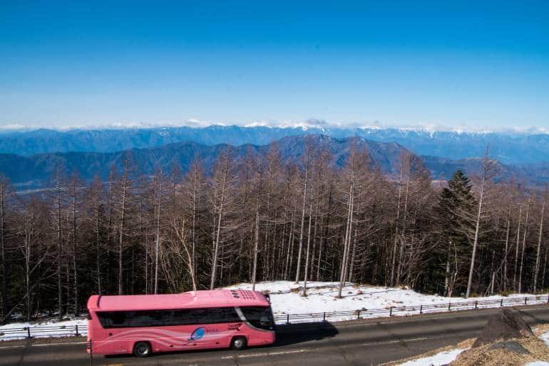 Mt Fuji bus tour