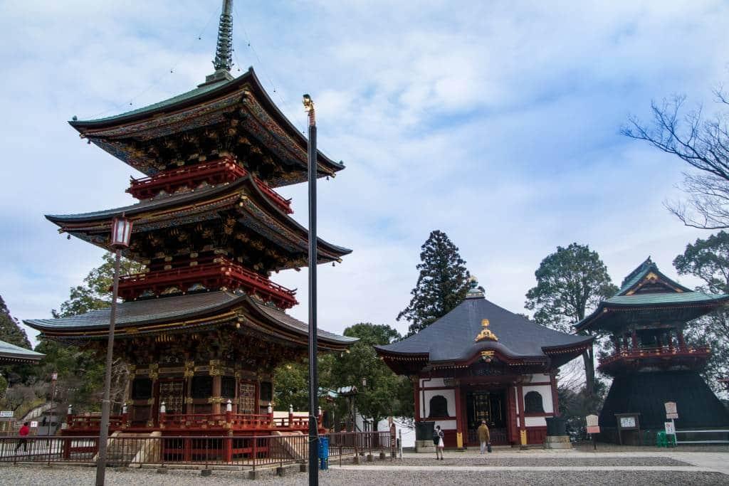 Naritasan Temple pagoda