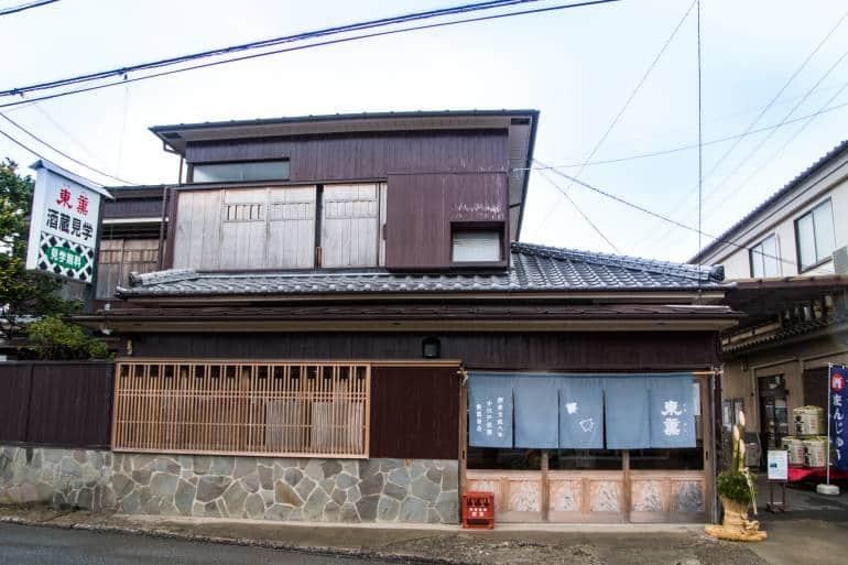 Tokun-shuzo distillery Chiba