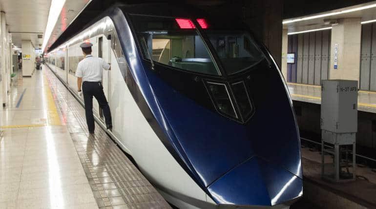 skyliner express train