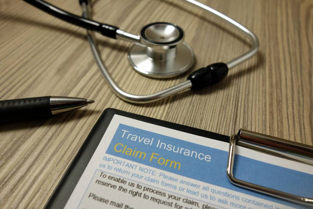 travel insurance claim form sample