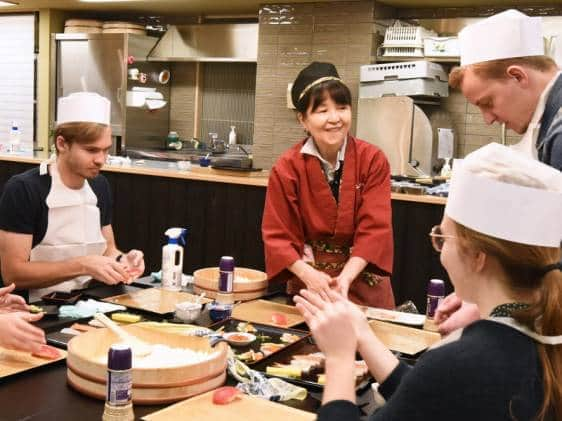 Tokyo sushi workshop Tiqets