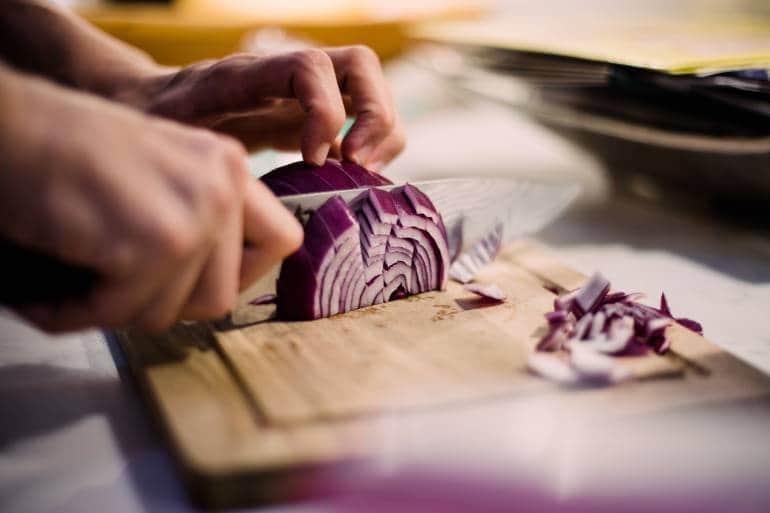 Preparing food, cooking