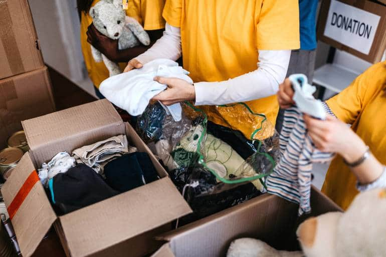 Donation Sorting for Charity