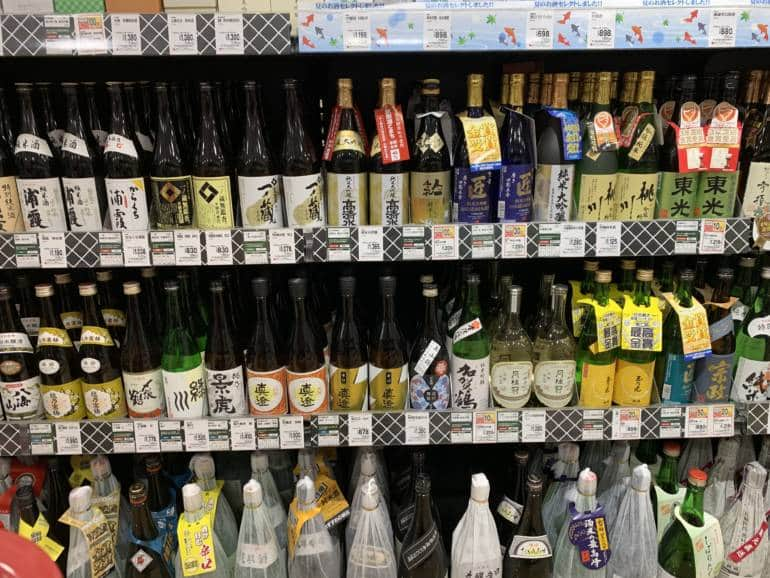 sake shochu alcohol japan groceries