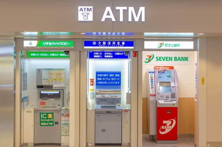 atm japan banks