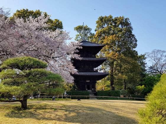 Chinzanso Pagoda