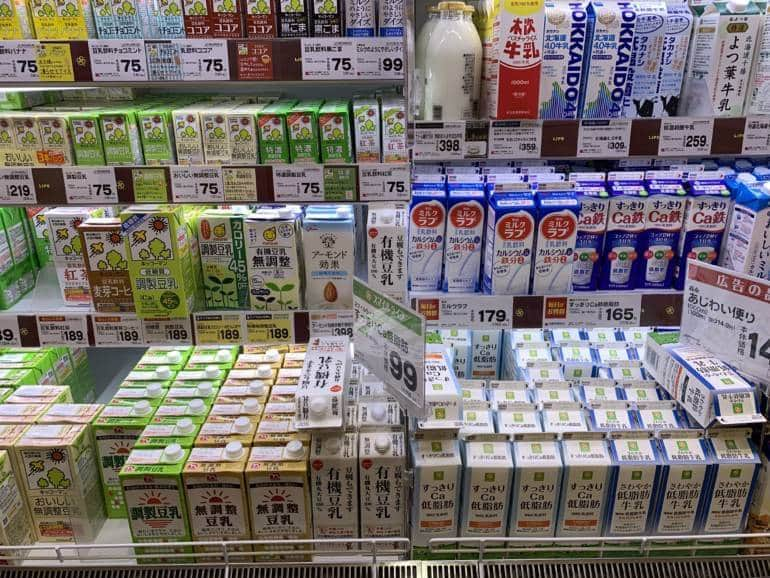 dairy japanese grocery food