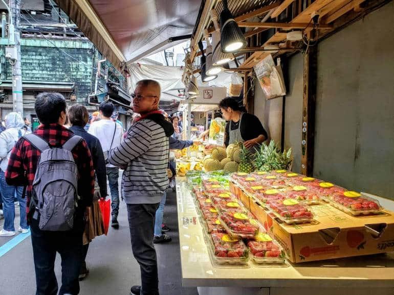 Tsukiji Asakusa Akihabara tour