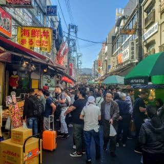 Attractions in Tsukiji