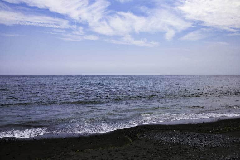 Kozu beach, Odawara