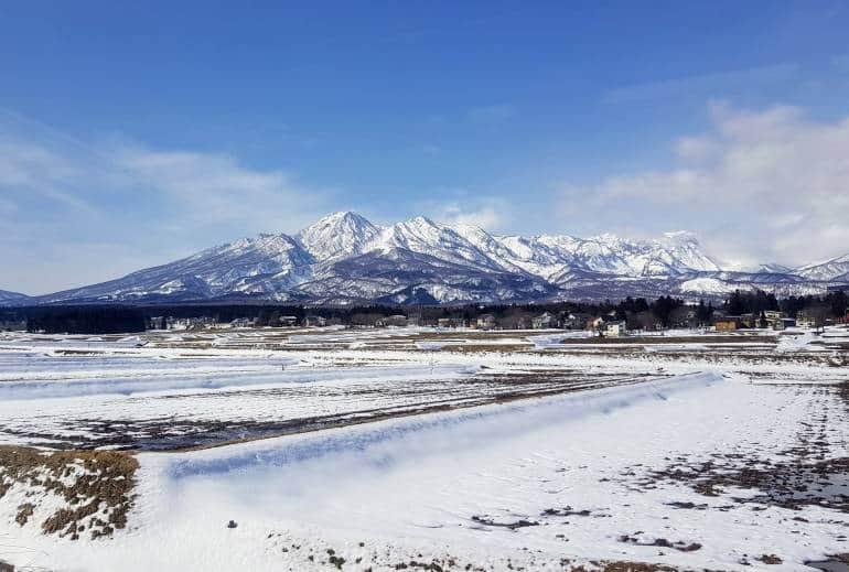 Mount Myoko in Niigata Prefecture