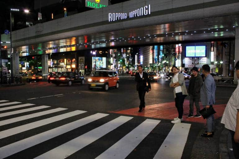 Roppongi Crossing japan safe travel