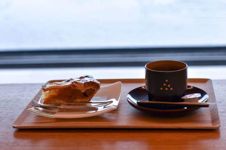 akita museum of art apple pie and coffee