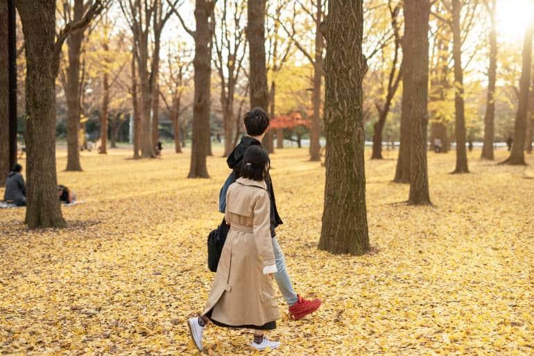 Tokyo Autumn clothing