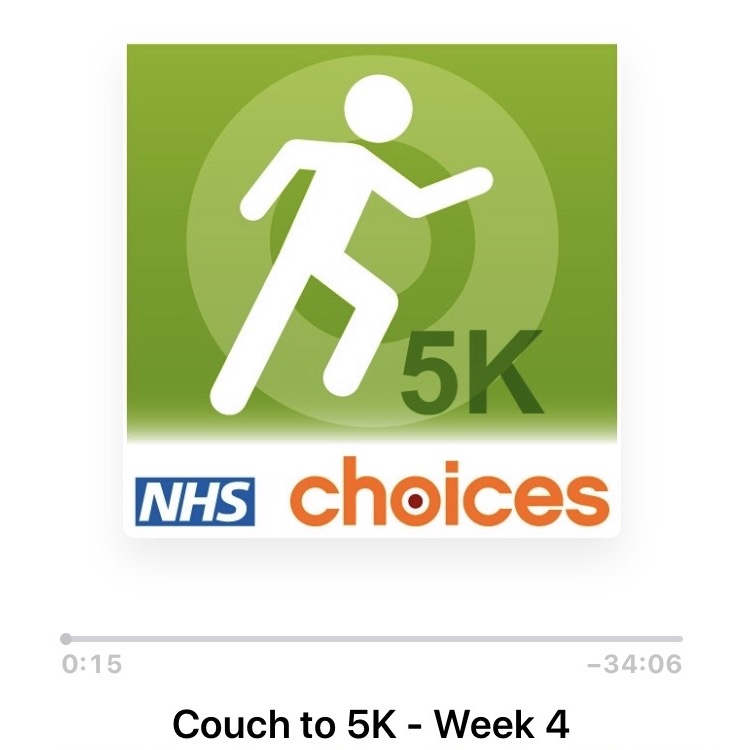 nhs couch to 5k screenshot