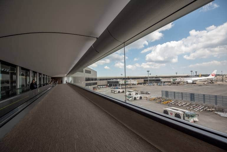 Narita Airport terminal
