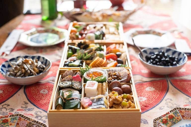 Japanese New Year's Food Osechi Ryori