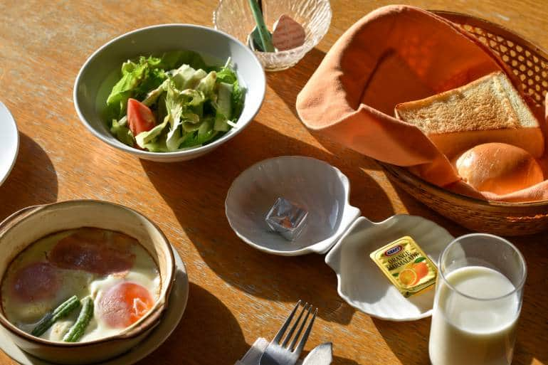 pension bokunouchi breakfast set