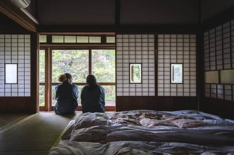 Ryokan Couple Futon