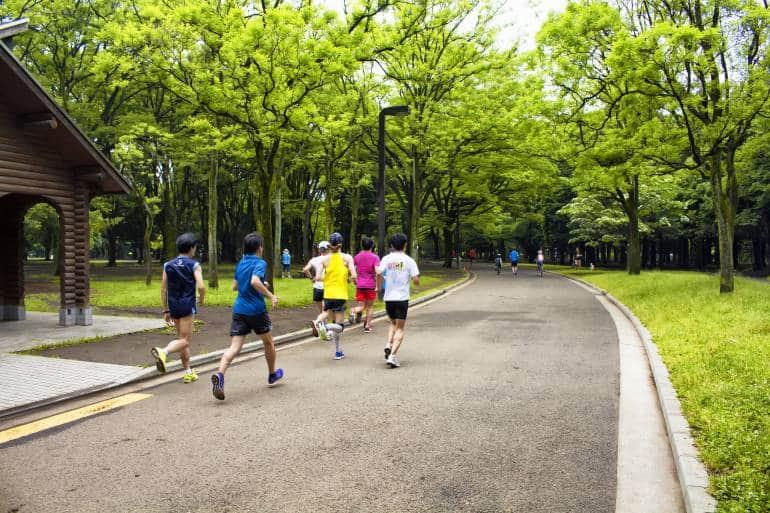 tokyo jogging