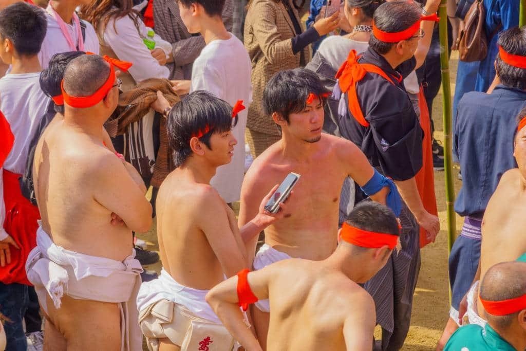 fundoshi loin cloth festival matsuri