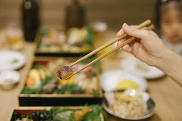 Osechi Ryori Japanese new year's food