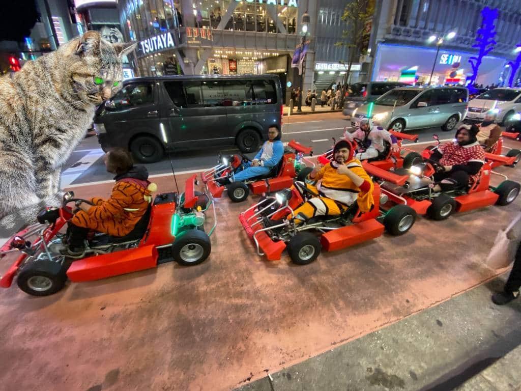 Mario Kart in Tokyo
