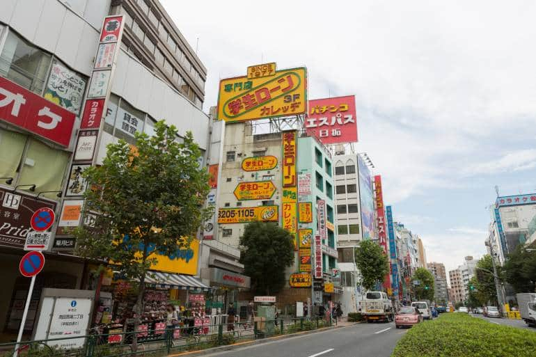 Takadanobaba area guide