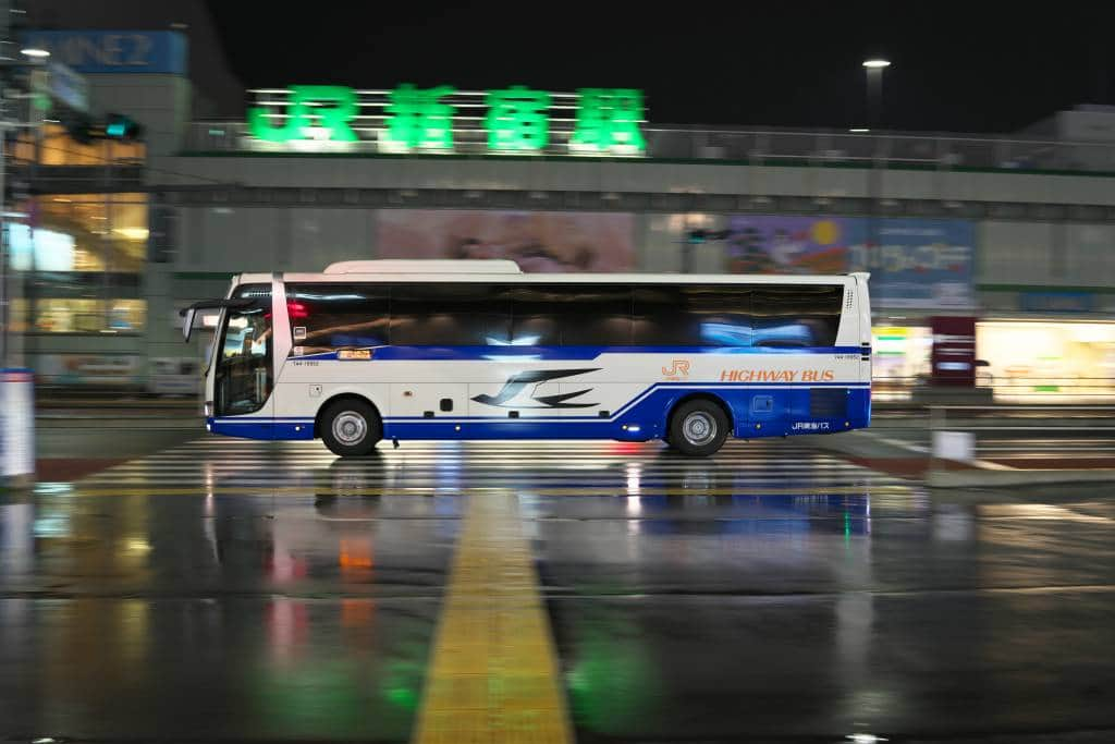 japan highway buses
