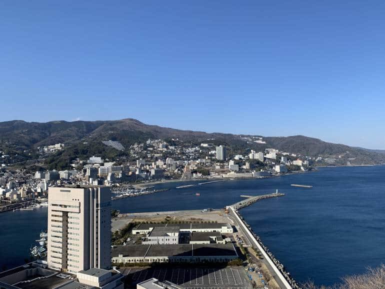beach town in Japan
