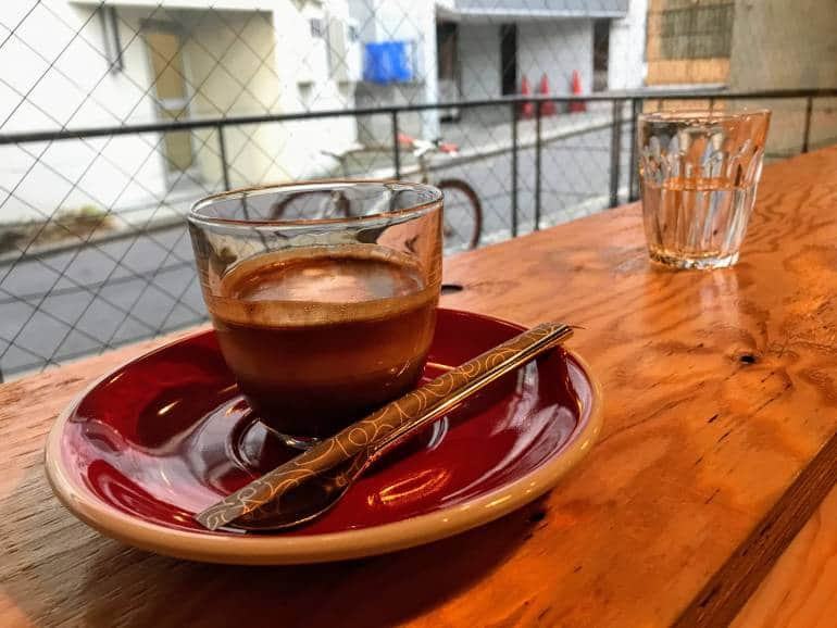 Espresso at hearts light coffee shibuya