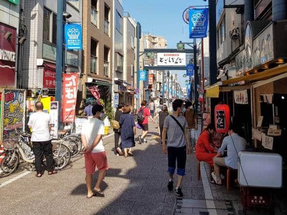 Togoshi Ginza shopping street