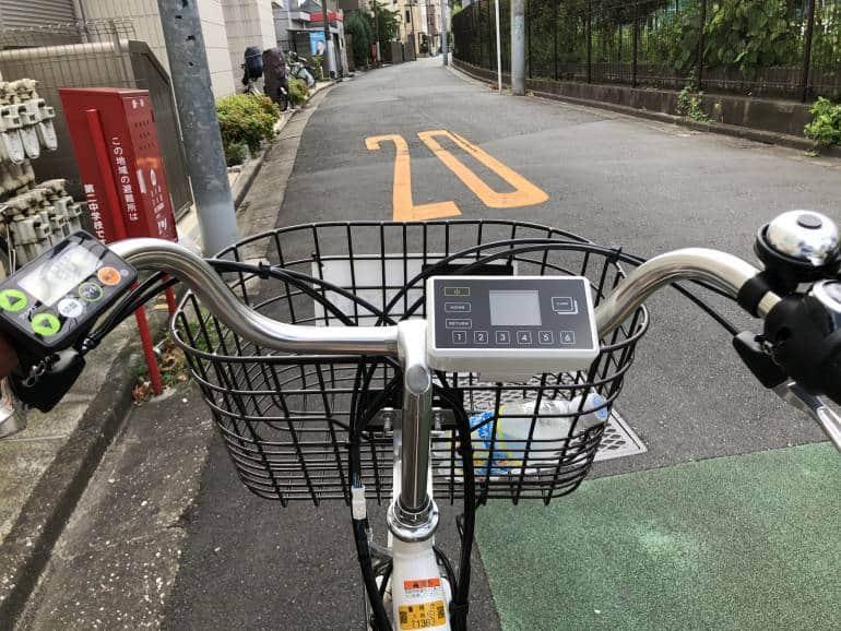 tokyo rental bike