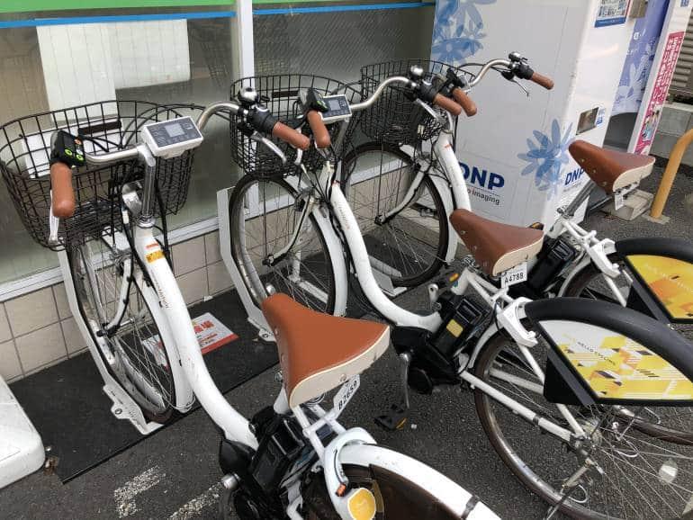 hello cycling bike parking